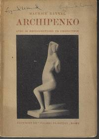 image of ARCHIPENKO; Avec 32 Reproductions En Phototypie