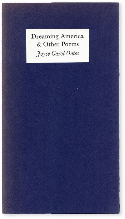 New York: Aloes Books, 1973. First, Limited Edition. No. 63 of 176 signed copies (the entire edition...