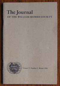 The Journal of the William Morris Society Volume V Number 2  Winter 1982