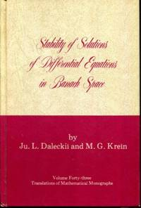 Stability of Solutions of Differential Equations in Banach Space