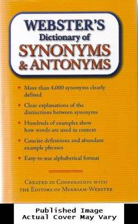 Webster's Dictionary of Synonyms & Antonyms