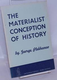 image of The materialist conception of history