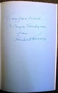 THE MEMOIRS OF HERBERT HOOVER. Three Volume Set, Each Book SIGNED