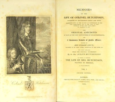 London: Longman, Hurst, Rees, Orme, and Brown, 1822. Fourth edition, 2 volumes, 8vo, pp. , xxvi, 348...