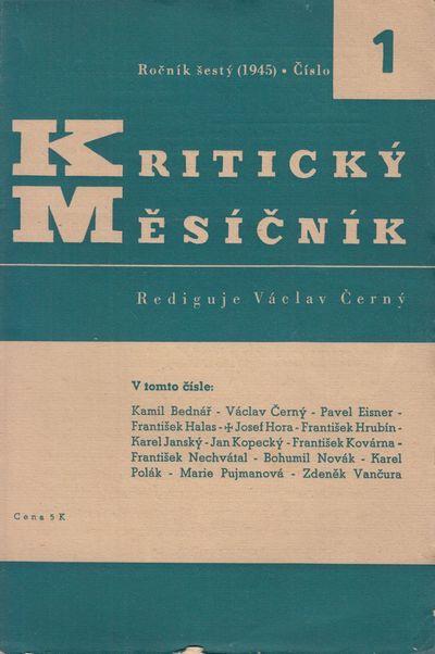 Prague: Fr. Borový, 1945. Large octavos (24.2 × 16.3 cm). Original printed wrappers; 264 pp. ...
