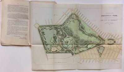Brooklyn: I. Van Andens Print, 1867. very good. Maps. Color lithograph. 12