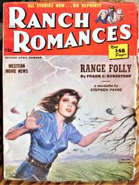 image of Range Folly. Novelette in Ranch Romances Volume 171 Number 2, April 11, 1952