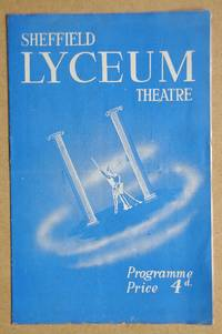 Sheffield Lyceum Theatre Programme. 8th October 1951.