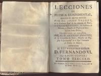 Lecciones de Physica Experimental, Escritas en idioma Frances por el abate Nollet. Tomo Tercero