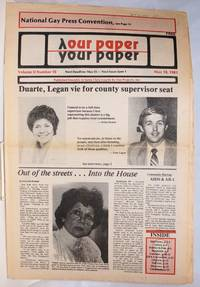 image of Our Paper, Your Paper; the gay family paper of the Santa Clara Valley; vol. 2, #10, May 18, 1983
