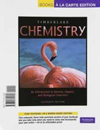 image of Chemistry: An Introduction to General, Organic, and Biological Chemistry, Books a la Carte Edition (11th Edition)