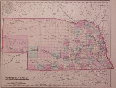 Philadelphia: Stedman, Brown & Lyon, 1877. unbound. very good(+). Map. Engraving with original hand ...