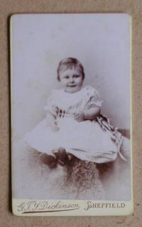 Carte De Visite Photograph: Portrait of a Young Child. by G. T. Y. Dickinson - from N. G. Lawrie Books. (SKU: 31215)