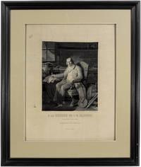 Portrait manufactured by Didier, Petit et Cie, woven in silk