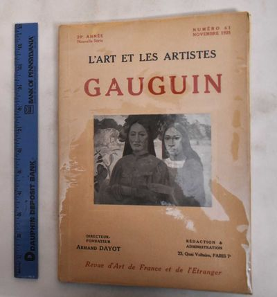 Paris: G. Kadar; L'Art et Les Artistes, 1925. Softcover. VG-, covers have been well protected by sho...