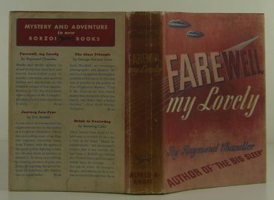 Alfred A. Knopf, 1940. 1st Edition. Hardcover. Near Fine/Very Good. Near fine in a very good dust ja...