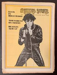 Rolling Stone (Issue #37, July 12th, 1969 -- Elvis Presley Cover) by  Ed Jann Wenner - Paperback - First Edition - 1969 - from Appledore Books, ABAA (SKU: 17854)