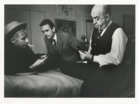 image of Original photograph of Otto Preminger playing cards, circa 1960s