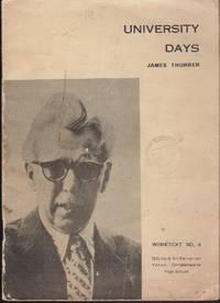 James Thurber. University days : Worktext no. 4