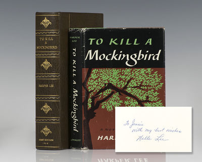 Philadelphia: J.B. Lippincott Company, 1960. First edition of Lee's Pulitzer Prize-winning novel whi...