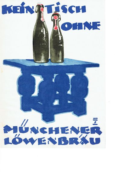Berlin: Francken & Lang, 1927. Cards. Orig. color lithograph. Near fine. 28.5 x 18 cm. Color lithogr...