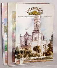 Alarife 2000: Revista duranguense de historia, arte y conservación [three issues] vol 1, #4, 7 & 8, julio , oct/nov & diciembre 2000