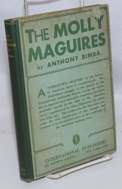 New York: International Publishers, 1932. Hardcover. 144p., cover abraded and soiled, end papers bro...