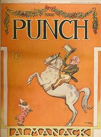 image of Punch, Or the London Charivari. January - June 1923. Volume 164. Leather bound edition with covers
