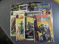The Lone Ranger #15, 19, 20, 21, 22, 23, 24, 25, 28 Comic Books