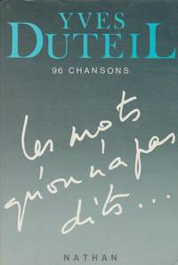 Les mots qu'on n'a pas dits-- (French Edition)
