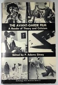 image of Avant-Garde Film (Anthology Film Archives 3)