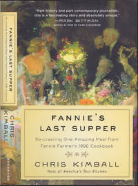 image of Fannie's Last Supper: Re-creating One Amazing Meal from Fannie Farmer's 1896 Cookbook