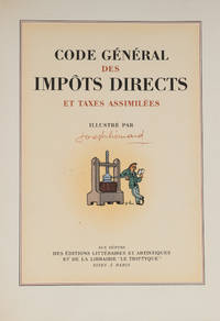 Code General des Impots Directs et Taxes Assimilees, Texte Integral..