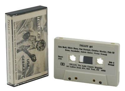 New York: TELLUS, 1985. Stereo cassette in cassette with single-sided fold-out J-card. Issue #8. NM....