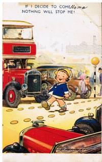 image of Kiddy Comic Postard No 126