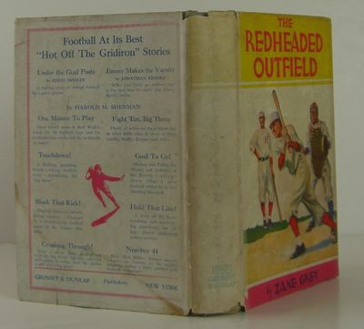 Grosset & Dunlap, 1920. 2nd Edition. Hardcover. Fine/Very Good. An early printing of this baseball c...
