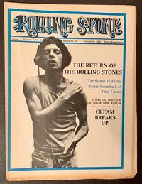 Rolling Stone (Issue #15, August 10th, 1968 -- The Mick Jagger Cover) by  Ed Jann Wenner - Paperback - First Edition - 1968 - from Appledore Books, ABAA (SKU: 17858)