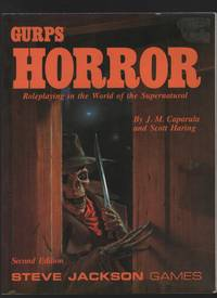 Gurps Horror:  Roleplaying in the World of the Supernatural by  J. M. & Scott Haring Caparula - Paperback - 2nd Edition - 1990 - from Sweet Beagle Books and Biblio.co.uk