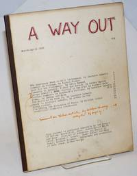 image of A way out, March-April 1966