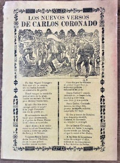 CORRIDO ABOUT BANDIT CARLOS CORANADO