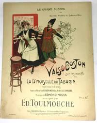 [SHEET MUSIC] Valse Boston (Boston Waltz) Operette en 3 actes