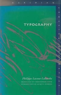 image of Typography _ Mimesis, Philosophy, Politics