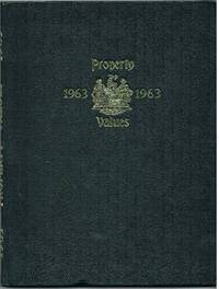 Property Values Annual Record for 1963 : North Somerset and South Gloucestershire