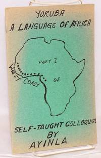 image of Yoruba: a language of Africa, self-taught colloquial by Ayinla