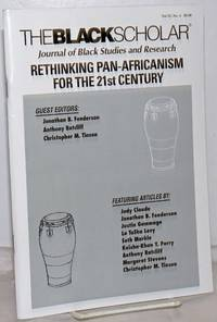 image of The Black Scholar: Volume 37, Number 4, Winter 2008: Rethinking Pan-Africanism for the 21st Centurty