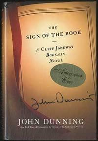 The Sign of the Book: A Cliff Janeway Novel