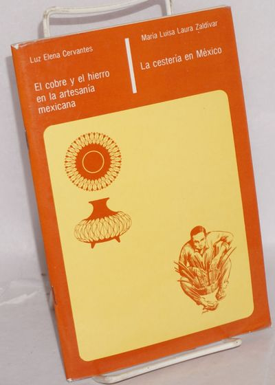 Mixcoac: FONART / SEP, 1986. Pamphlet. Two separate monographs in a single fastening: staplebound pa...