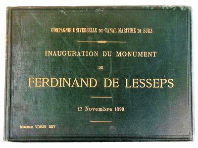 Inauguration du monument de Ferdinand...