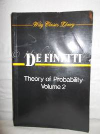 image of Theory of Probability Volume 2