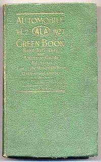 image of Automobile Green Book Vol. 2 1927